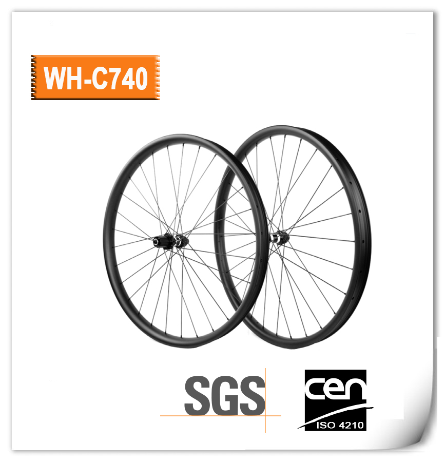 29 inch Carbon wheel 33mm width mountain bicycle rear wheel M32 hub 12*142mm